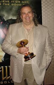 Fred Barton winning Saturn Award