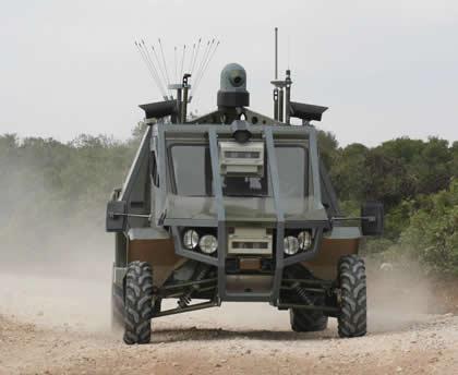 Israel UGV Guardium LS