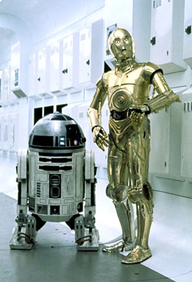 R2d2 And C3po Star Wars Robot...