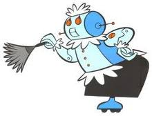 Rosie the Robot from the Jetsons